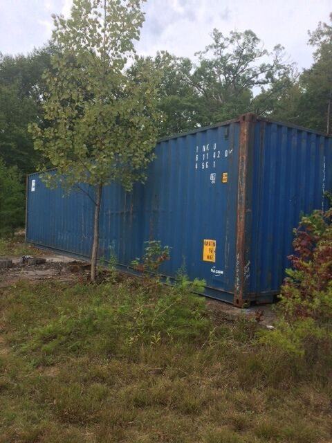 40ft Hc Cargo Worthy Shipping Container In Seattle, Wa