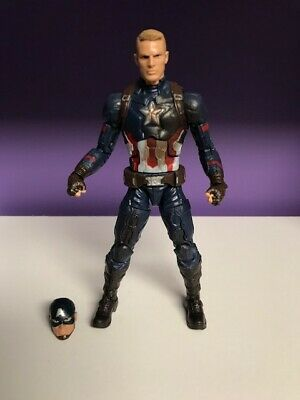 Marvel Legends Civil War 3 Pack Captain America
