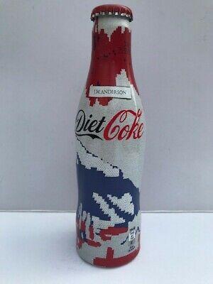 Diet Coke / JW Anderson collaboration LE aluminium red & blue bottle