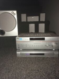 Sony 5.1 Receiver, Speakers and DVD