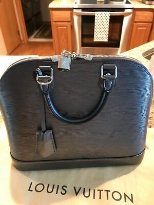 Louis Vuitton Alma PM - Epi Leather - New - Authentic