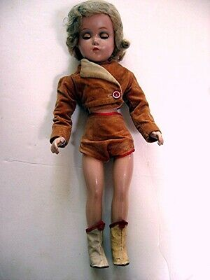 "17"" Arranbee Nancy Lee Jointed All Composition Doll marked R & B"