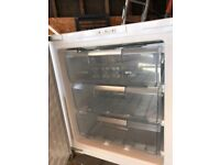 Bosch integrated 3 drawer freezer. 598mm wide, very good condition