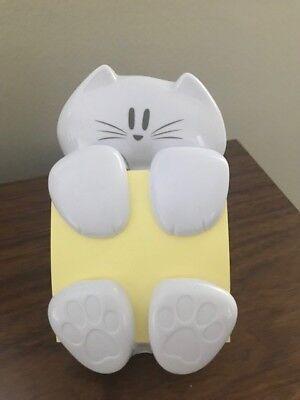 Self Stick Note Pad Holder Pop Up Note Dispenser 3 In X 3 In Cat Figure Pad