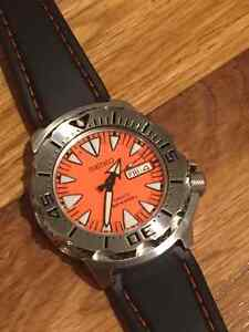 Seiko Orange Monster (with box and tags)