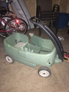 Green Little Tykes Wagon for sale