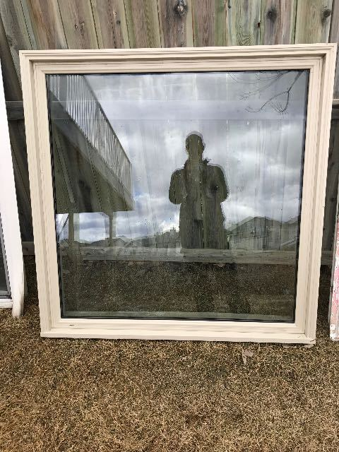 New Lux Window - Sand Picture Window. Frame is 47 ¼ x 47 ½ ...