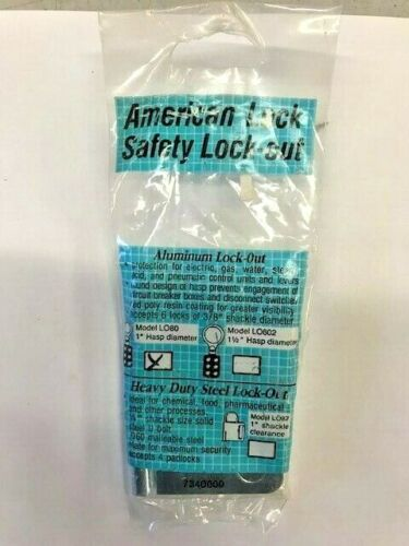 American Lock LO87 safety lockout