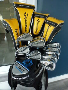 Superbe ensemble de golf Taylormade R580, Rac CGB, Cobra Baffler