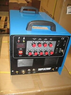 New Tig Arc Acdc Welder Plasma Cutter Pulse New 200p Foot Pedal Included