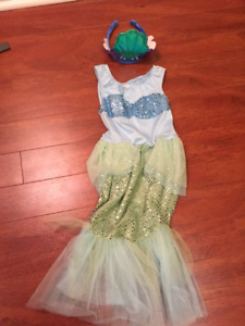 Halloween Costume - Toddler Girl Size 3-4 Mermaid Outfit