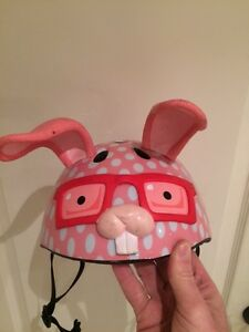 Adorable bunny helmet great for girls 3-5