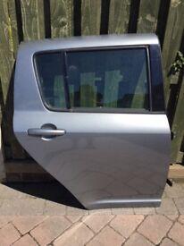 Suzuki Swift 2006 - 2010 O/S Rear Door