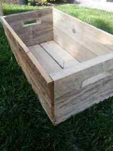 Wooden Crates - handmade solid wood appleboxes Kitchener / Waterloo Kitchener Area image 2