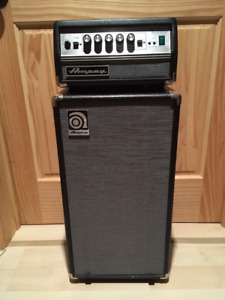 Ampeg Micro VT Head with Ampeg SVT 210AV 200watt @8ohms Cabinet