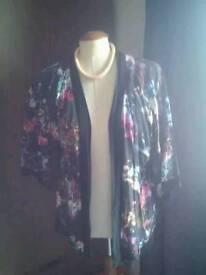 Kimono style jacket .size 8/10