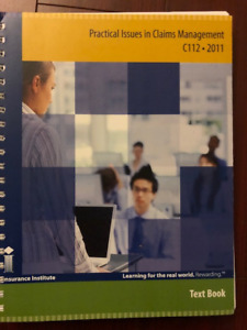 C112 Practical Issues in Claims Management 2011(Most recent)