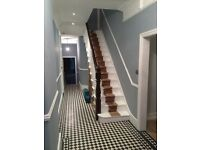 Painting decorating wood & laminate flooring electrician tiling complete kitchen bathroom fitting