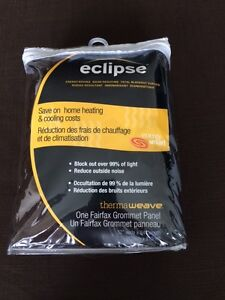 NEW Eclipse blackout and reduce outside noise curtains