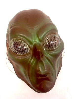 rün & Braun Kunststoff Alien Maske Herrenabend (Grüne Alien Maske)