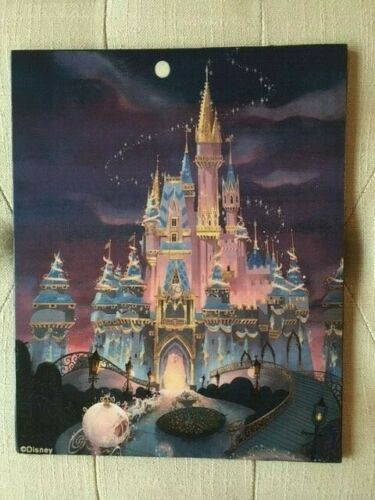 DISNEY WORLD 50TH ANNIVERSARY CELEBRATION HANDCRAFTED WOODEN SIGN
