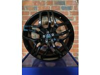 """20"""" Gloss Black Alloy Wheels To Fit Range Rover Evoque - Brand New Boxed"""
