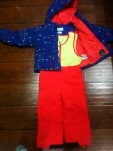 Columbia snow pant and jacket 4T