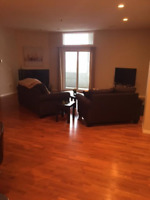 Furnished 2b/2b 1800 sqft condo for rent downtown
