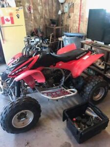 2004 Honda TRX racing quad