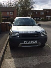 Excellent condition, it runs like a brand new Land Rover. Sadly my son can't take it to Uni.