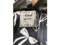 Next black puffa jacket - Age 9/10 - as new