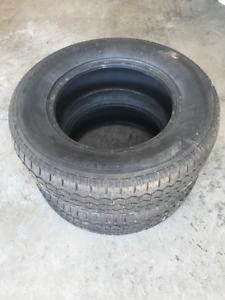 215/70/15 Uniroyal Tiger Paw Tires - set of 2 - $80