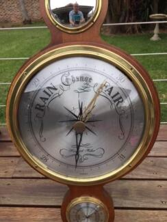 Barometer plus thermometer,humidity gauges etc