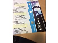 2 x Standing Jay Z Beyonce tickets