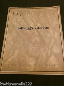 Golliwoggs Cake Walk Sheet Music