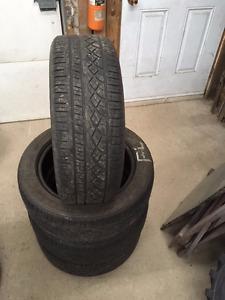 4 pneus d'été P205/55R16 91H