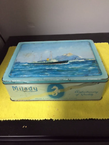 Milady Confectionary Tin Box