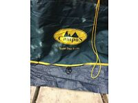 Campus Super Duo turbo 4 person tent for sale