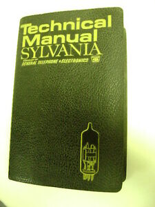 RCA / Sylvania vacuum tube manuals