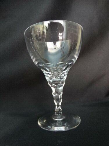 Orrefors Scandinavian Crystal CARINA Liquor Cocktail Thumbprint w/ Cut Stem EUC
