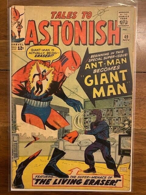 Tales To Astonish 49 Silver Age Key Comic Book