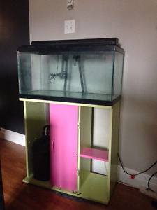 Fish Aquarium 25gallon