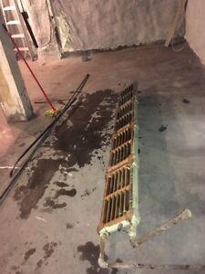 Cast Iron Radiator - Hot Water Heating