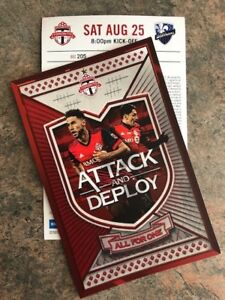 Toronto FC .vs. Montreal Impact Tix - BMO Field August 25 @ 8PM