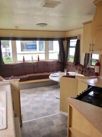 Cheap caravan, 2 bedrooms, ONLY £8995, 2017 site fees included at Ashcroft Coast