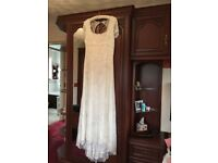 Wedding Dress - Phase8 Size 16. New with labels Ivory