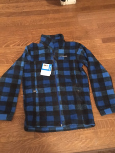 Columbia Youth M fleece jacket- brand new!