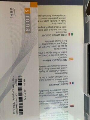 Sirona Cerec Sw 4.2 Disc Cad Cam Software