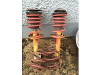 Nova shock absorbers and springs