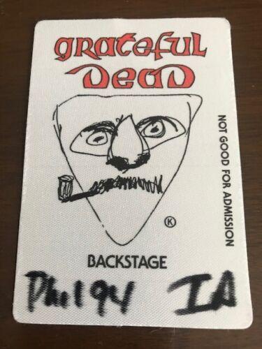 Grateful Dead 1994 - backstage pass Philadelphia - Phil 94 IA Local 8